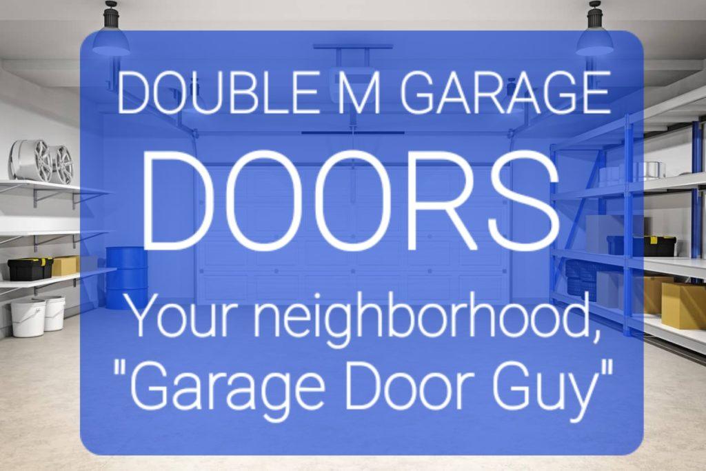 double m garage doors